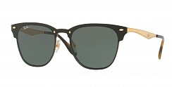 Ray-Ban Blaze Clubmaster RB3576N 043/71 Brusched Gold