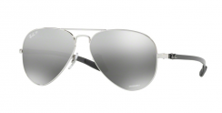 Ray-Ban RB8317CH 003/5J Shiny Silver