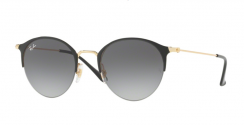 Ray-Ban RB3578 187/11 Gold Top Shiny Black