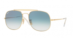 Ray-Ban General RB3561 001/3F Gold