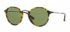Ray-Ban RB2447 11594E Spotted Green Havana