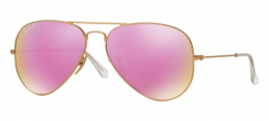 Ray-Ban Zonnebril Aviator RB3025 112/1Q Matte Gold