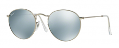 Ray-Ban Round Metal RB3447 019/30 Matte Silver