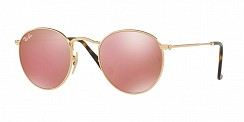 Ray-Ban Round Metal RB3447N 001/Z2 Shiny Gold