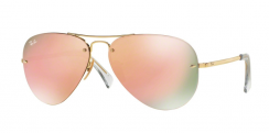 Ray-Ban Highstreet RB3449 001/2Y Gold
