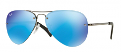 Ray-Ban Highstreet RB3449 004/55 Gunmetal