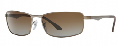 Ray-Ban Active Lifestyle RB3498 029/T5 Matte Gunmetal