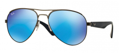 Ray-Ban Highstreet RB3523 029/55 Matte Gunmetal