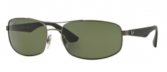 Ray-Ban Active Lifestyle RB3527 029/9A Matte Gunmetal