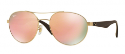 Ray-Ban RB3536 112/2Y Matte Gold