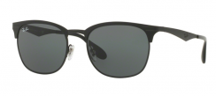 Ray-Ban RB3538 186/71 Top Matte Black On Shiny BLK
