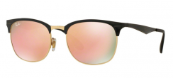 Ray-Ban RB3538 187/2Y Top Shiny Black On Gold