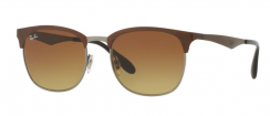 Ray-Ban RB3538 188/13 Top Brown On Gunmetal