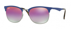 Ray-Ban RB3538 9005A9 Gunmetal/Matte Blue