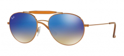 Ray-Ban RB3540 198/8B Shiny Bronze