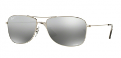 Ray-Ban RB3543 003/5J Shiny Silver