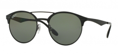 Ray-Ban RB3545 186/9A Shiny Black/Top Matte Black