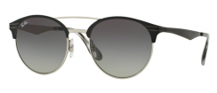 Ray-Ban RB3545 900411 Top Black On Silver