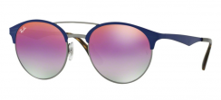 Ray-Ban RB3545 9005A9 Gunmetal/Matte Blue