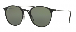 Ray-Ban RB3546 186/9A Black Top Matte Black
