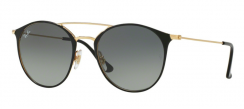 Ray-Ban RB3546 187/71 Gold Top Black