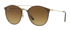 Ray-Ban RB3546 900985 Gold Top Brown