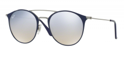Ray-Ban RB3546 90109U Gunmetal Top Blue