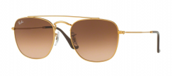Ray-Ban Icons RB3557 9001A5 Light Bronze