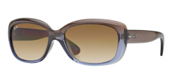 Ray-Ban Jackie OHH RB4101 860/51 Brown Gradient Lilac