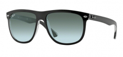 Ray-Ban Highstreet RB4147 603971 Top Black On Transparent