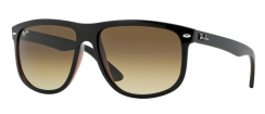 Ray-Ban Highstreet RB4147 609585 Top Black On Brown