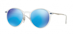 Ray-Ban RB4224 646/55 Matte Transparent