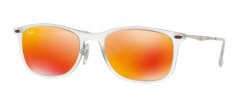 Ray-Ban RB4225 646/6Q Matte Transparent