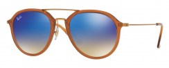 Ray-Ban RB4253 62388B Shiny Brown