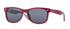 Ray-Ban Junior Wayfarer RJ9052S 177/87 Top Red Fuxia On Gray