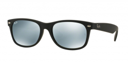 f61cb7996187a0 ☆Aanbieding☆ Ray-Ban New Wayfarer RB2132 622 30 Rubber Black ...