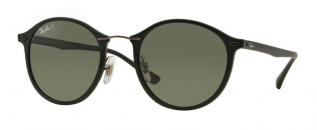 41659ad8868625 Ray-Ban Round II LightRay RB4242 601S9A Matte Black ...