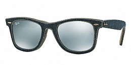 b830328581a6be Ray-Ban Wayfarer RB2140 119430 Jeans Blue Jeans Green Brown ...
