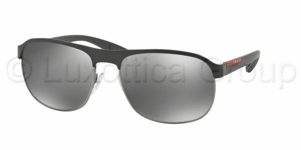 prada sport zonnebril ps 51qs dg07w1 black gunmetal. Black Bedroom Furniture Sets. Home Design Ideas