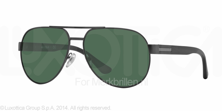 db5f512725e Vogue Zonnebril VO3877S Matte black gray green ...