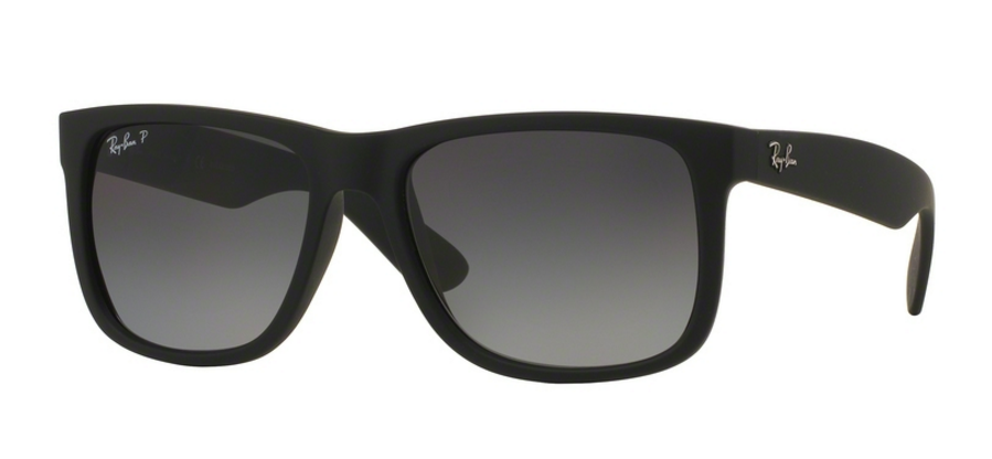 Ray-Ban Justin RB4165 622/T3 Black Rubber
