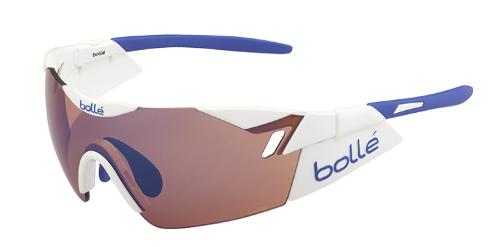 Bollé Zonnebril 6th Sense 11843 Shiny White/Blue