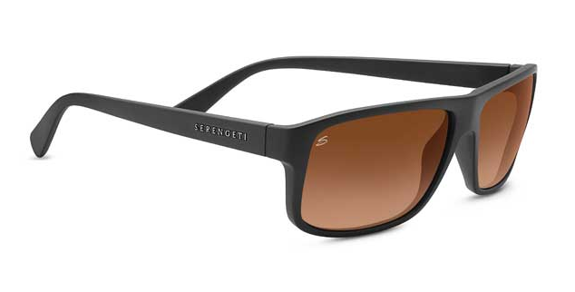 Serengeti Zonnebril Claudio 8436 Satin Black