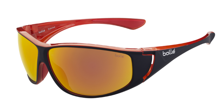 Bollé Zonnebril Highwood 12023 Shiny Black/Red