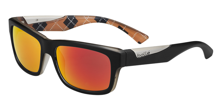 Bollé Zonnebril Jude 11877 Matte Black/Orange