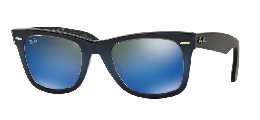 Ray-Ban Wayfarer RB2140 120368 Top Blue Grad On Light Blue