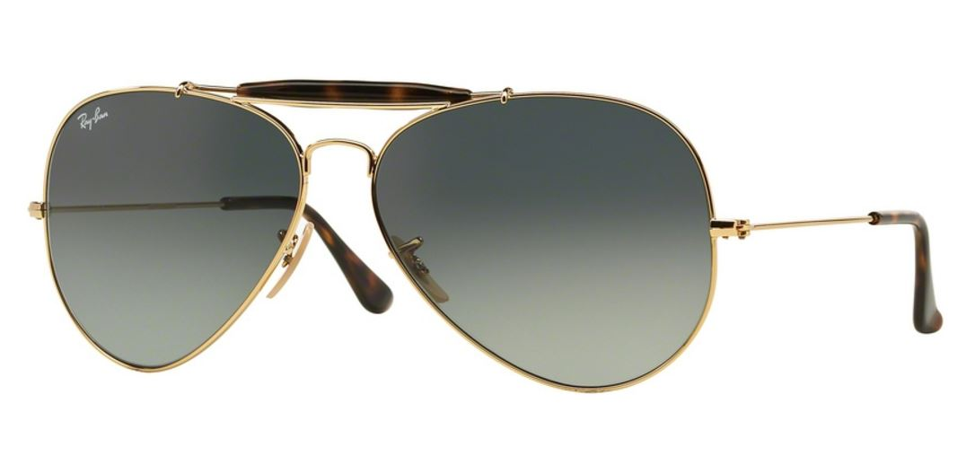 Ray-Ban Outdoorsman II RB3029 181/71 Gold