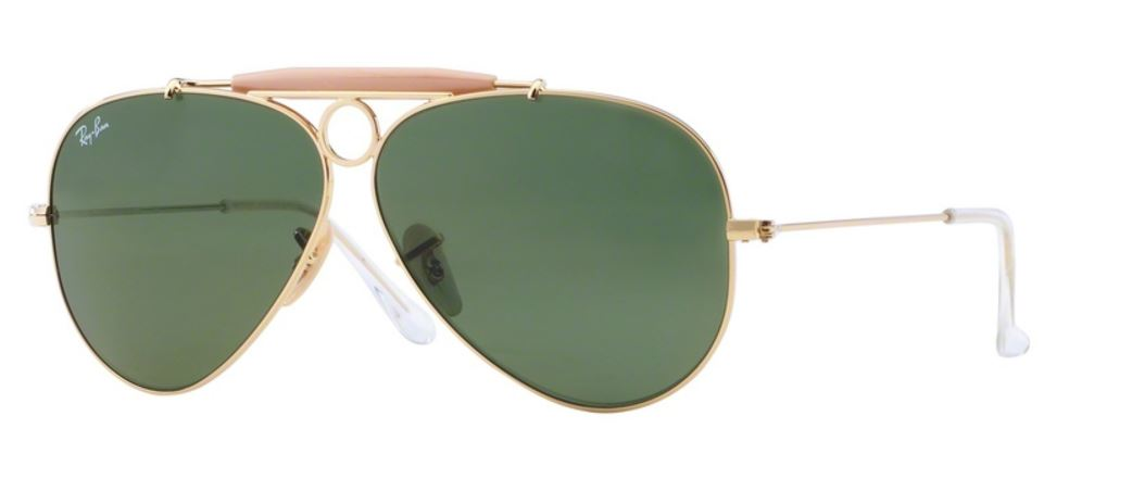 Ray-Ban Shooter RB3138 001 Gold