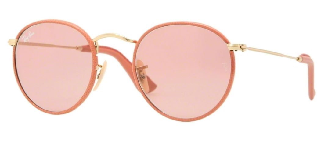 Ray-Ban Zonnebril RB3475Q 001/4B Arista/Antique Pink Leather