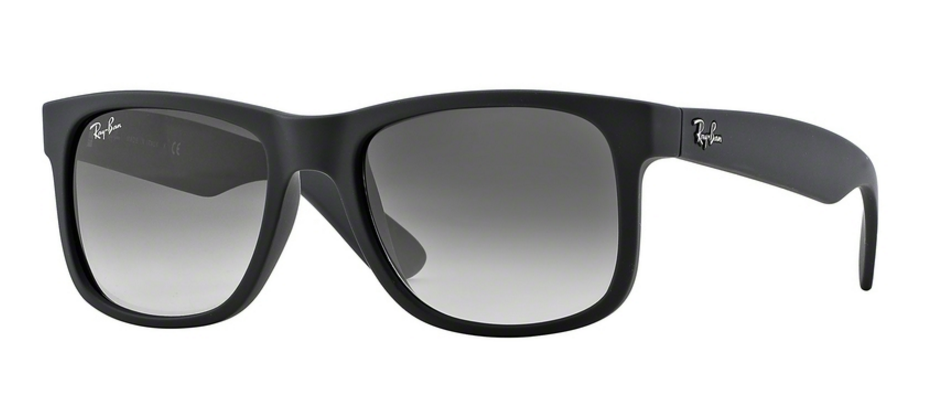 Ray-Ban Justin RB4165 601/8G Rubber Black